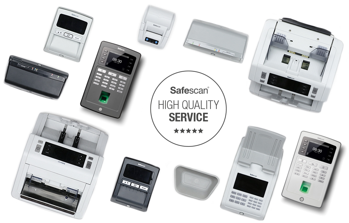 Safescan Product Range